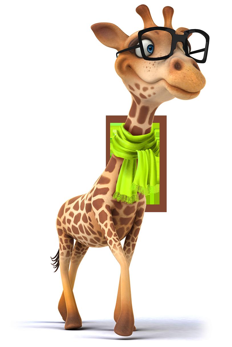 Halsweh-Giraffe