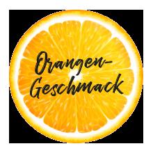 Orangengeschmack